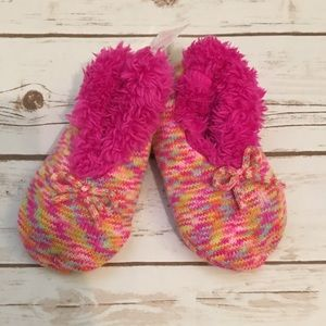 [Fuzzy Babba] Girls Slipper Socks